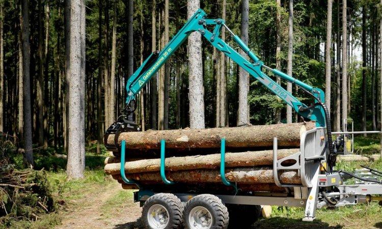Remorque à bois Pfanzelt